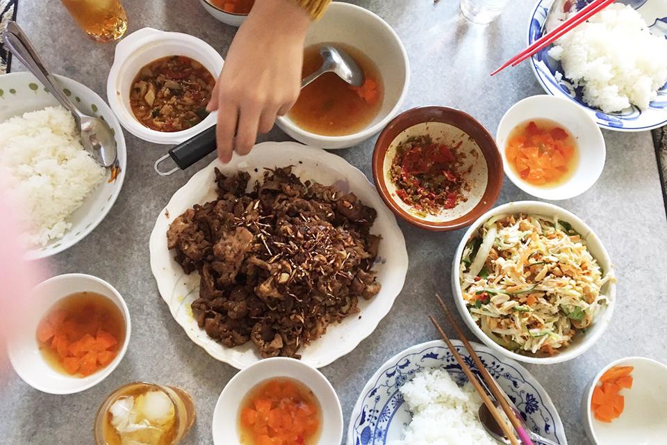 Một bữa no nê/久しぶりのベトナム料理