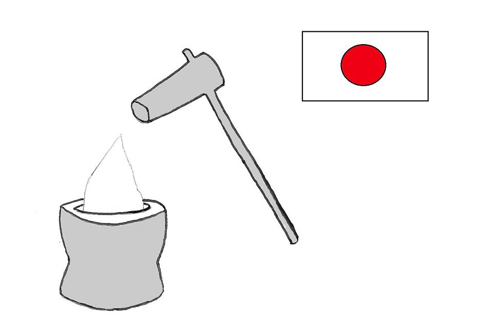 ओमोची बनाएको/お餅作り