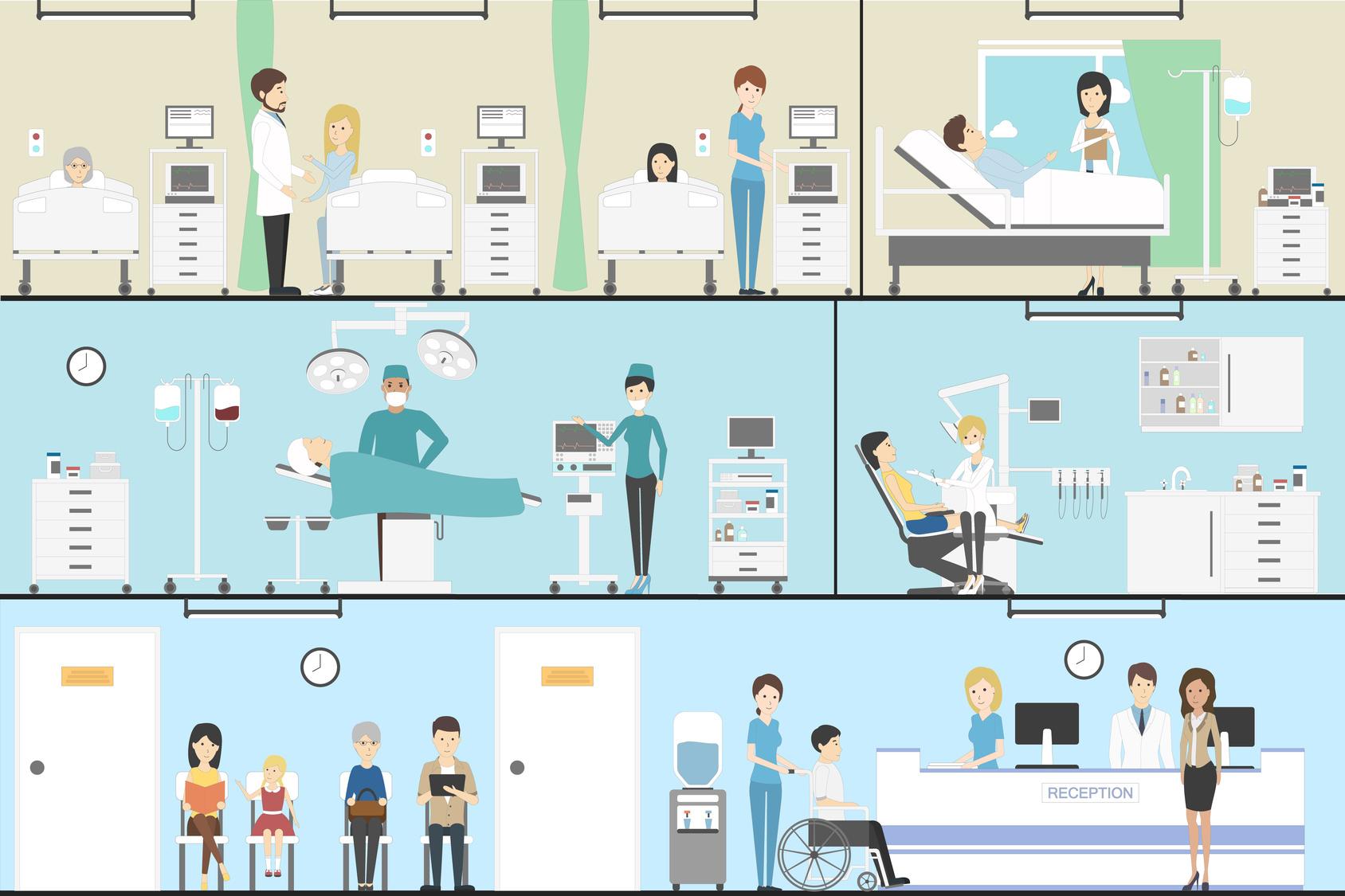 総合病院 厚生中央病院+看護助手