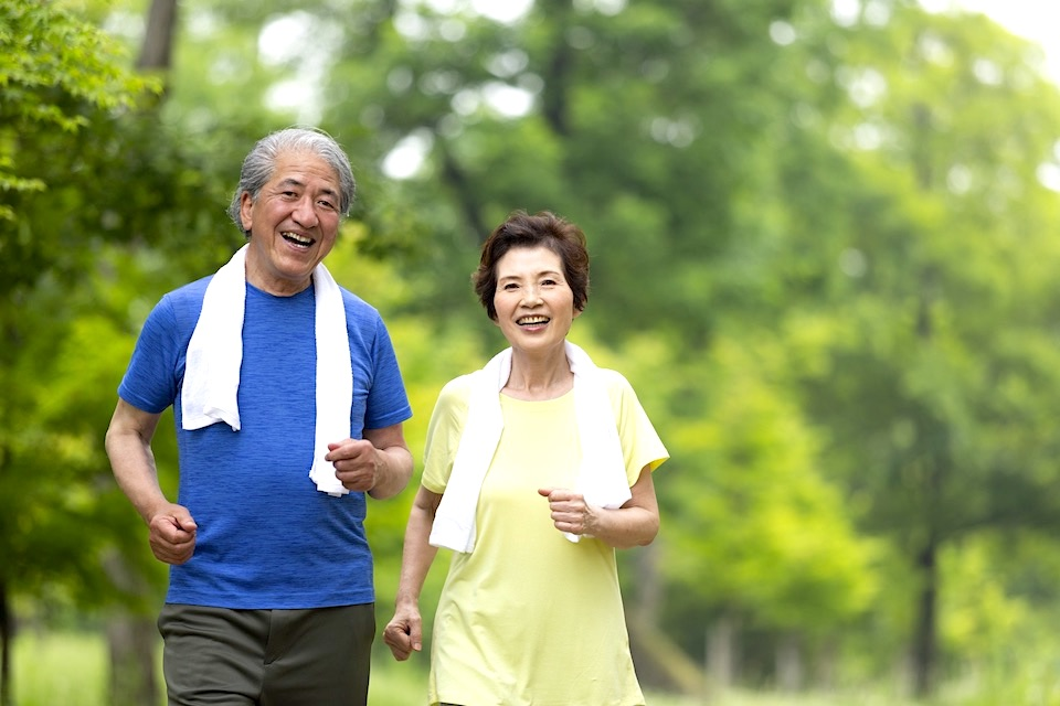 看護助手はよく歩く〜健康増進〜