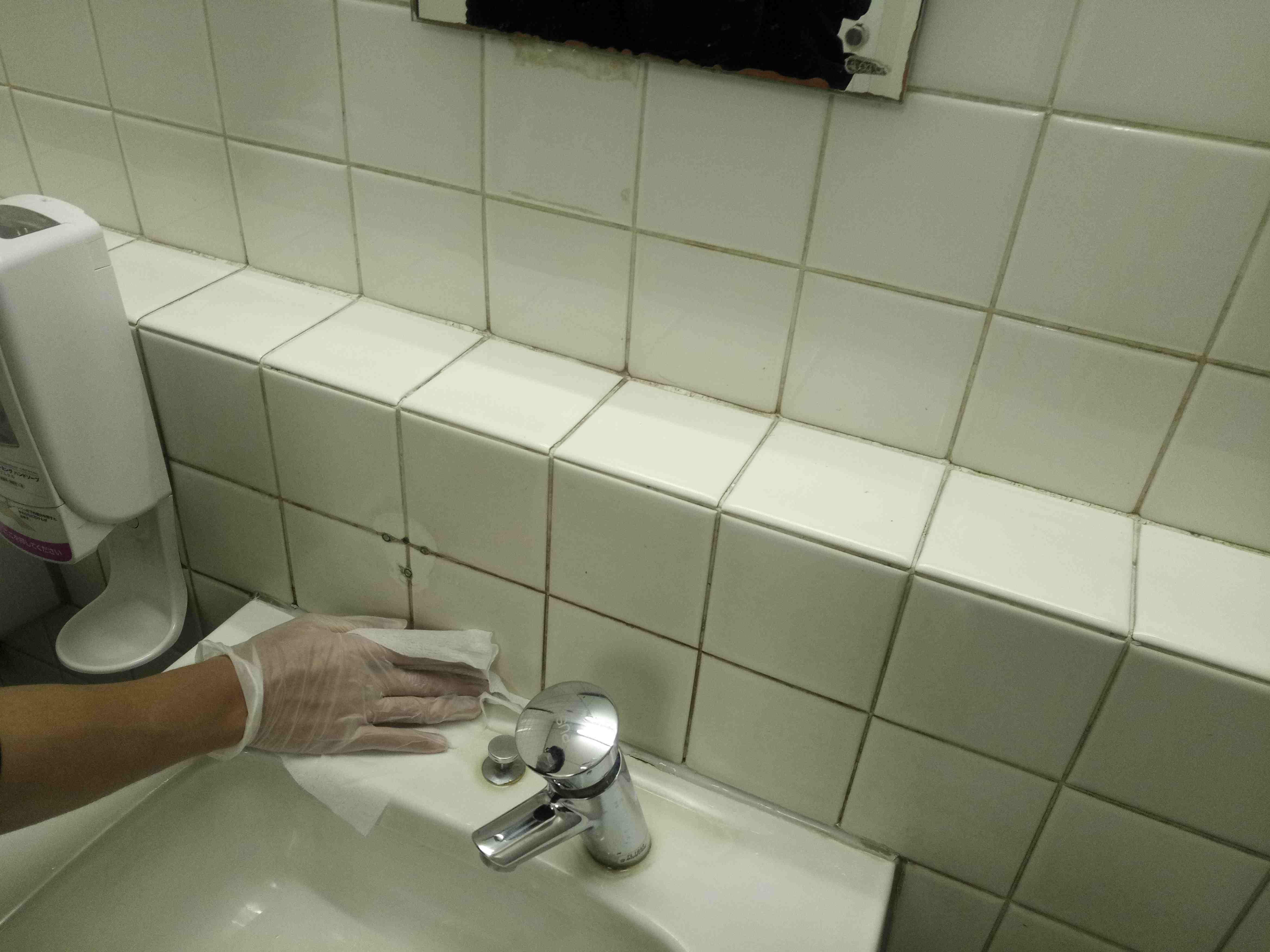 汚物室の環境整備/污物处置室的打扫