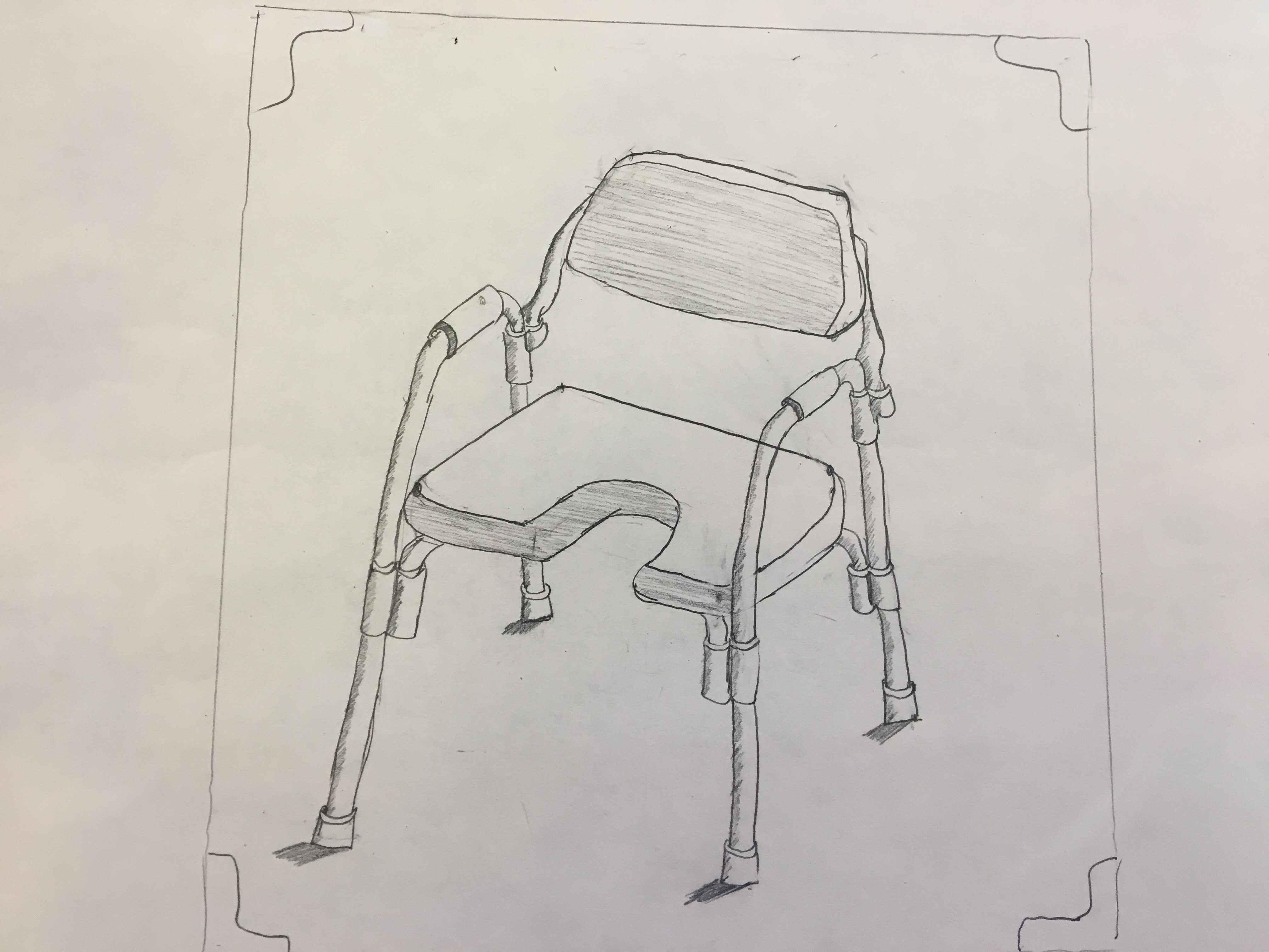 トイレ椅子/Ghế vệ sinh