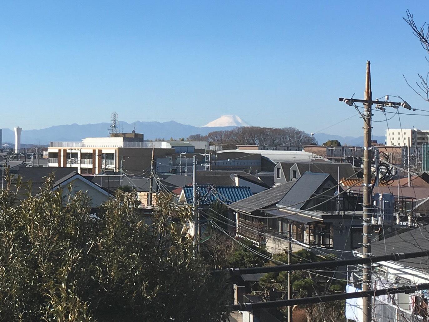 富士山の見える部屋