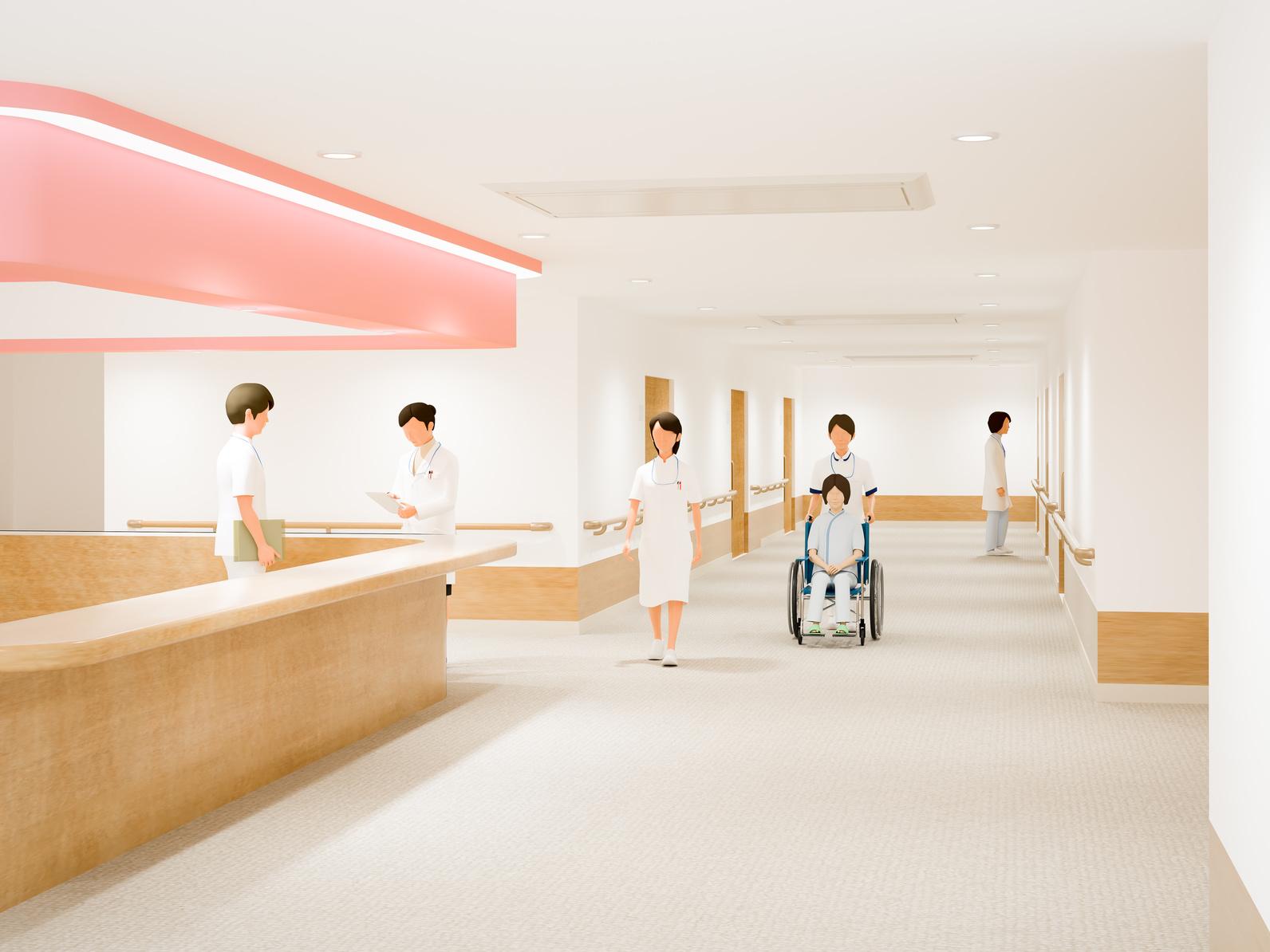 東京都立駒込病院+看護助手