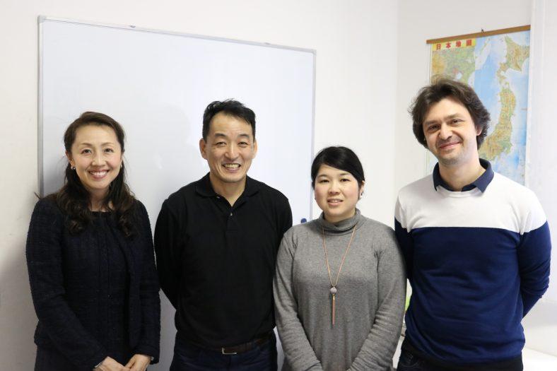 イタリア日本語教室「TOZAI」立本勝也様/森田陽子様