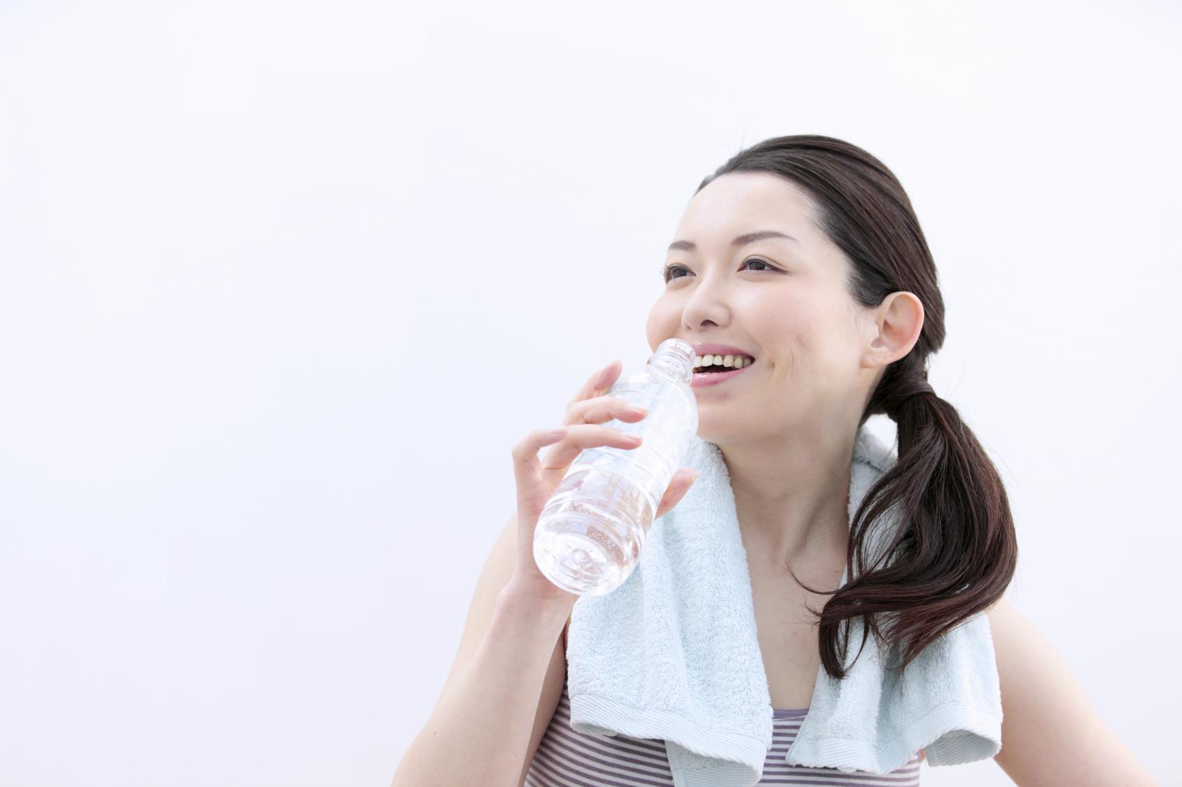 夏を乗り切るための水分補給