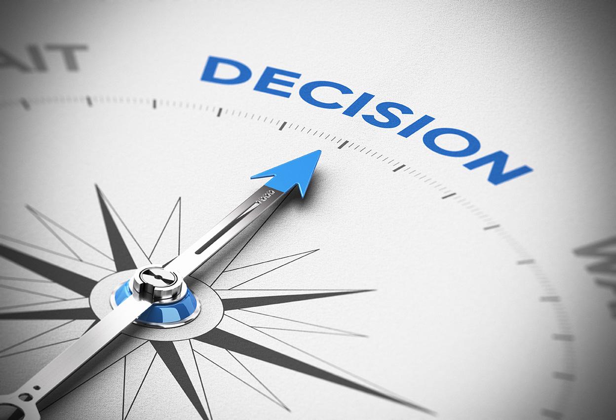 निर्णय/決断