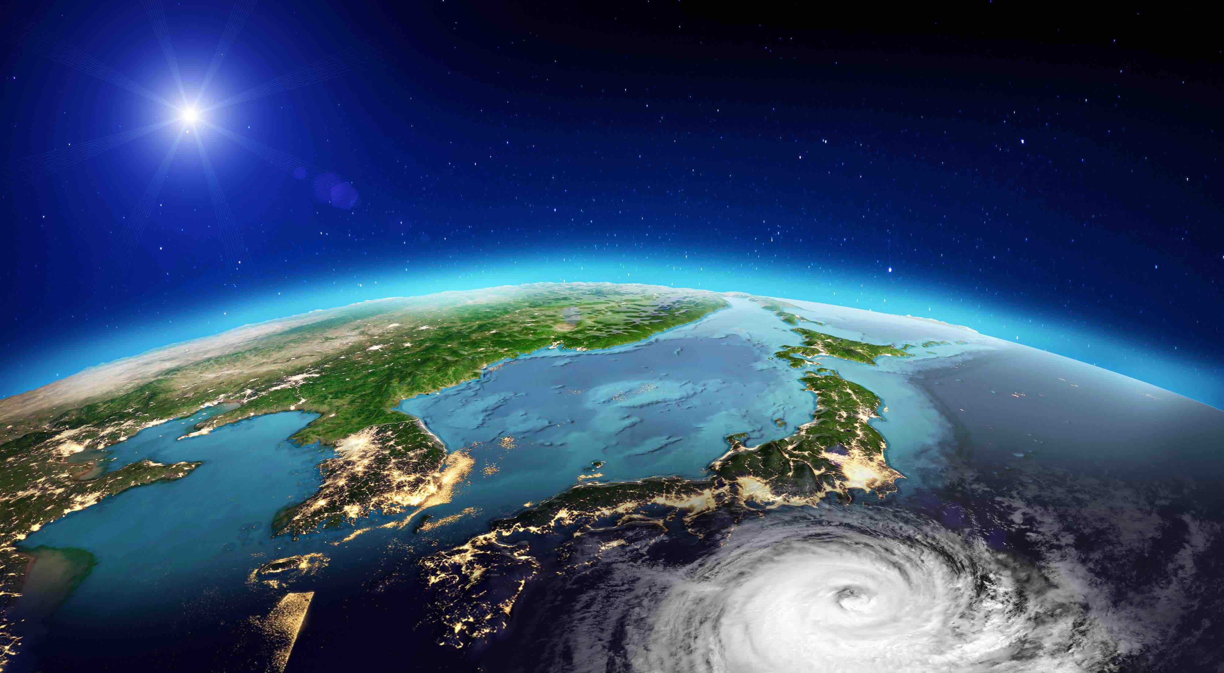 TIFONES,LOS HOSPITALES NO PARAN SU SERVICIO/台風。でも病院の稼働は止まらない