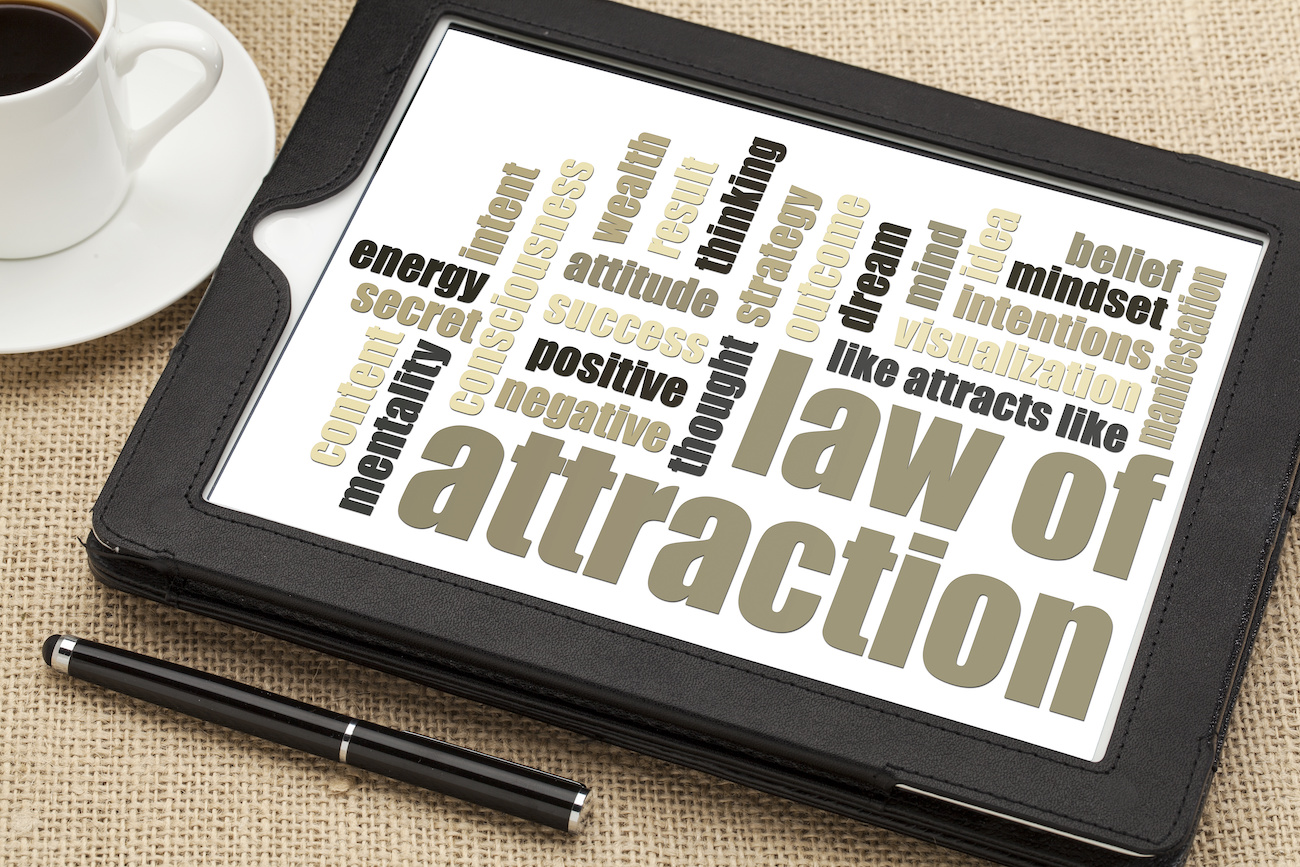 Law of Attraction/引き寄せの法則