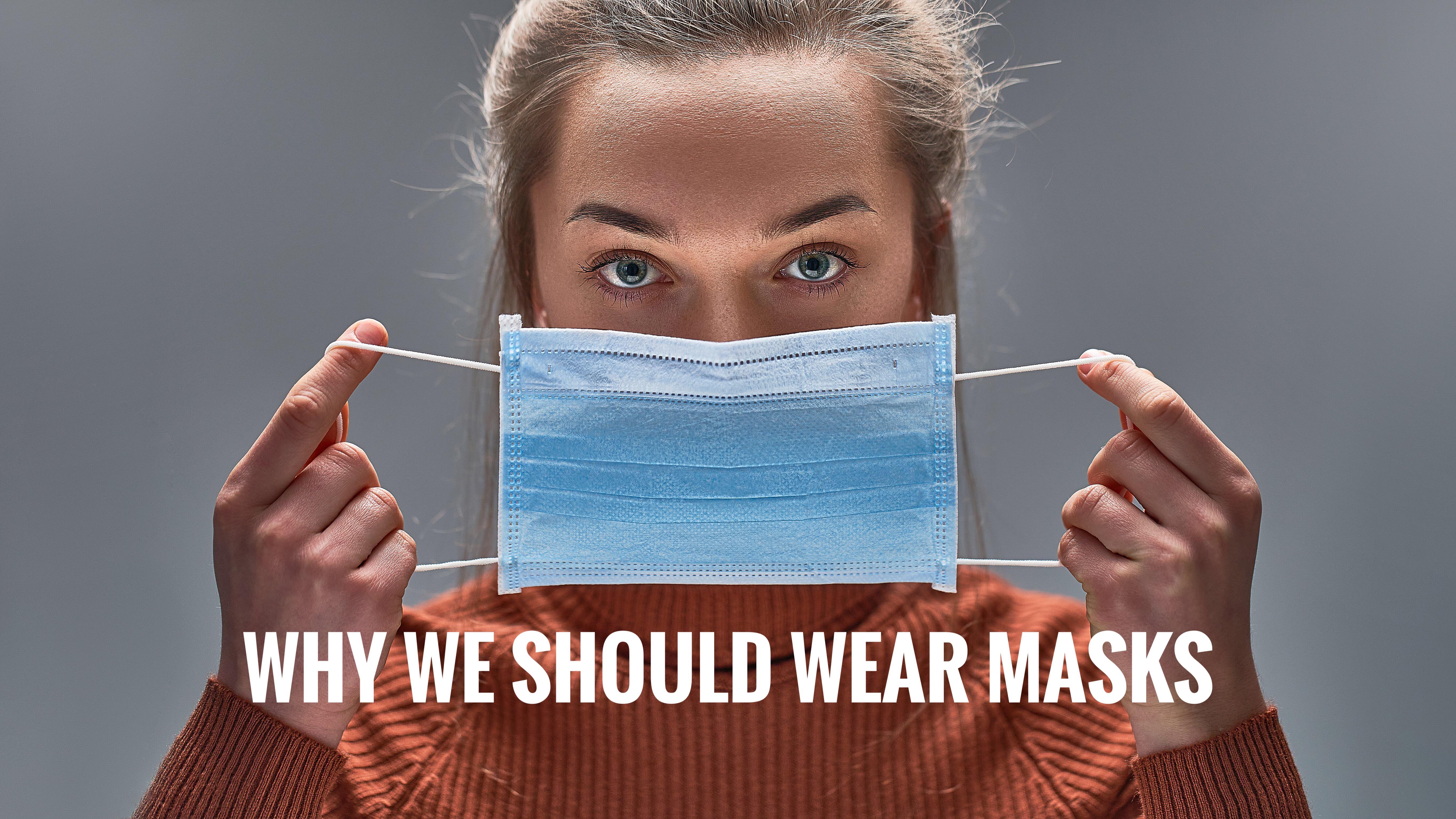 EL PORQUE DEBEMOS USAR MASCARAS/マスクを着用する理由