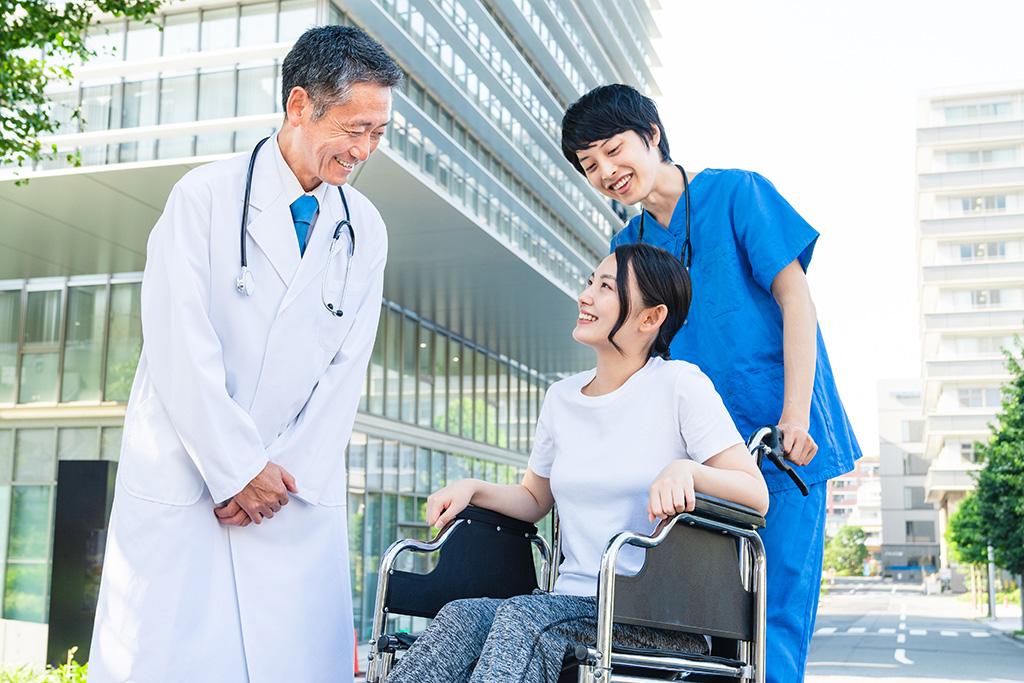 बिरामी संगको कुराकानी/患者さんとの会話