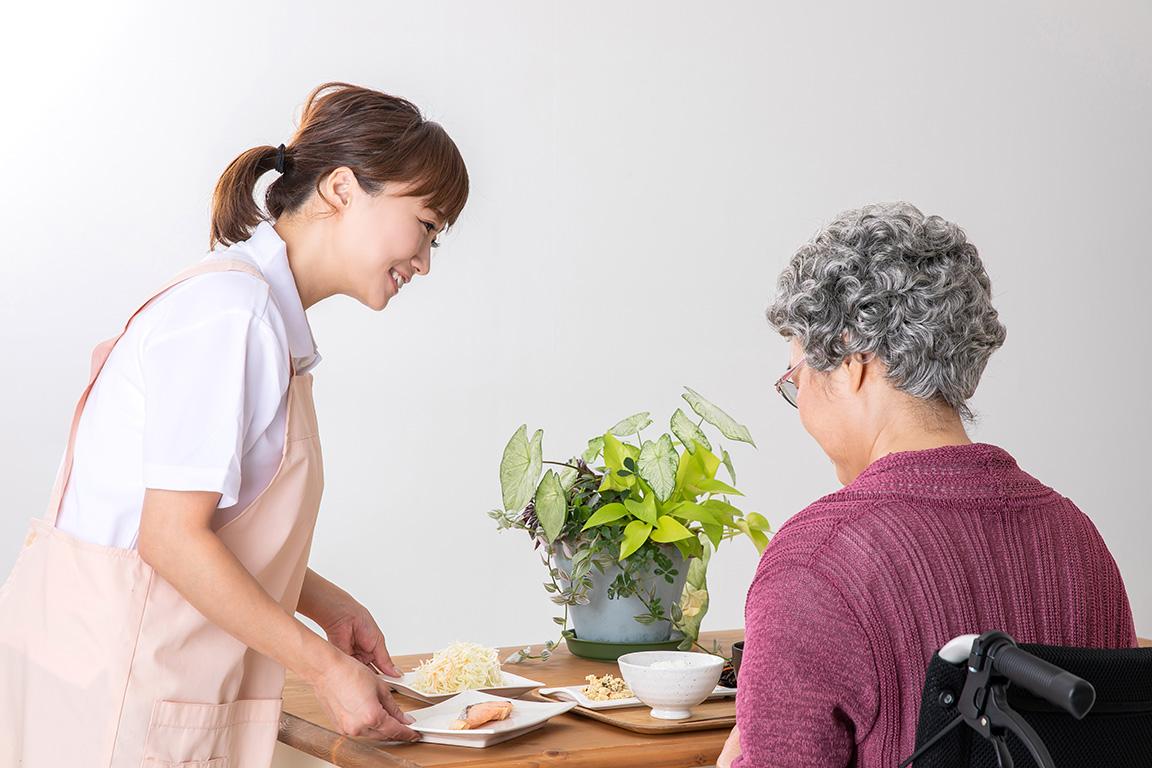 配膳の業務