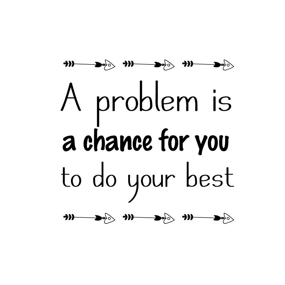 Do your best/ベストを尽くしましょう。